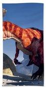 Allosaurus Bath Towel