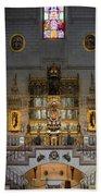 Almudena Cathedral Altar Bath Towel