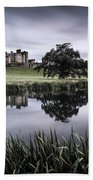 Alnwick Castle Sunset Bath Towel