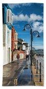 Along The Promenade - Lyme Regis Bath Towel