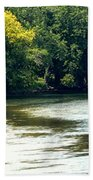 Along The River Bath Towel