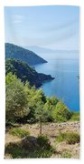 Alonissos Island Bath Towel
