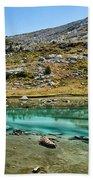 Alpine Lake Bath Towel