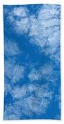 Altocumulus Cloud. Bath Towel