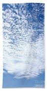 Altocumulus Stratiformis Perlucidus Cloud Bath Towel