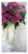 Alyvos - Lilacs Bath Towel