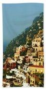 Amalfi Coast Hillside II Bath Towel