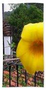 Amarillo La Flor Bath Towel