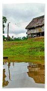 Amazon River Reflections-peru  Bath Towel
