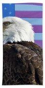 American Bald Eagle 2 Bath Towel