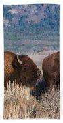 American Bison Trio Bath Towel