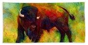 American Buffalo Hand Towel