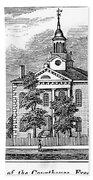 American Courthouse, 1844 Bath Towel