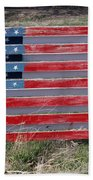 American Flag Country Style Bath Towel