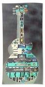 American Guitars 5 Hand Towel