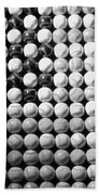 American Pastime In Black And White1 Bath Towel