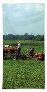 Amish Field Work Bath Towel