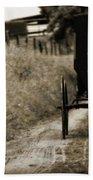 Amish Horse And Buggy Bath Towel