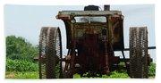 Amish Tractor Bath Towel
