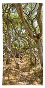 Among The Trees - The Mysterious Trees Of The Los Osos Oak Reserve Bath Towel