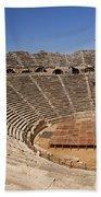 Amphitheatre In Side Turkey Bath Towel