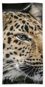 Amur Leopard Bath Towel