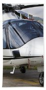 An Agustawestland A109 Power Elite Bath Towel