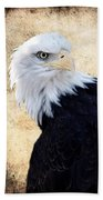 An Eagles Standpoint II Bath Towel
