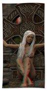 Anaglyph Elfa Bath Towel