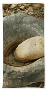 Anasazi Grinding Bowl Bath Towel