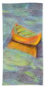 Anchored In The Shallows Bath Towel