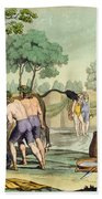 Ancient Celts Or Gauls Sacrificing Bath Towel