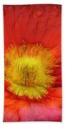 Ancient Flower 4 - Poppy Bath Towel