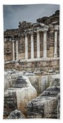 Ancient Fountain Bath Towel