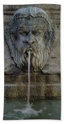Ancient Fountain Hand Towel