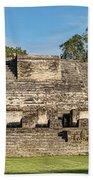 Ancient Mayan Ruins, Altun Ha, Belize Bath Towel