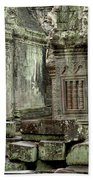 Ancient Ruins Cambodia Bath Towel