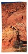 Ancient Sand Dunes Bath Towel