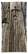 Ancient Timber Bath Towel