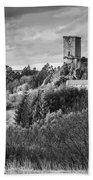 Andrade's Castle Galicia Spain Bath Towel