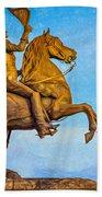 Andrew Jackson - Paint Bath Towel