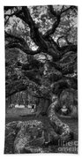 Angel Oak Tree 2 Bath Towel