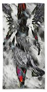 Angel Of Winter Bath Towel