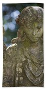 Angel With Broken Arm II Cave Hill Cemetery Louisville Kentucky  Bath Towel