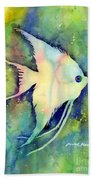 Angelfish I Bath Towel by Hailey E Herrera