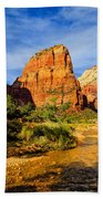 Angel's Landing Bath Towel by Greg Norrell