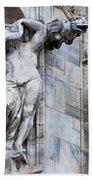 Animal Gargoyles Duomo Di Milano Italia Bath Towel