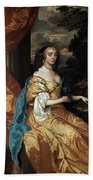 Ann Hyde, Duchess Of York (1637-1671) Bath Towel