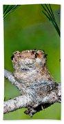 Annas Hummingbird Nest Bath Towel