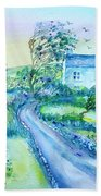 Another Windy Day On Cleare Island Ireland   Bath Towel